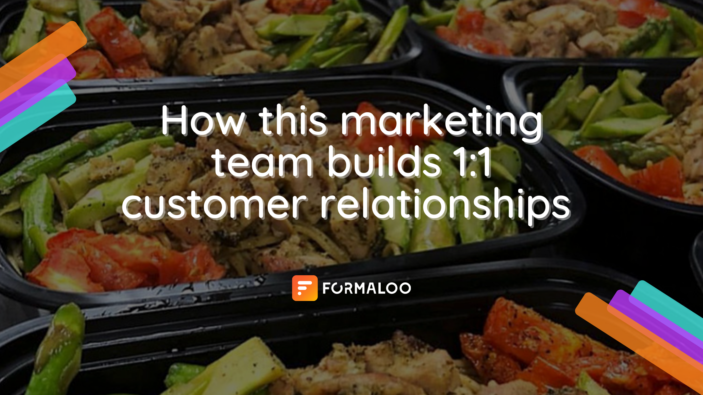 marketing team builds one-to-one customer relationships